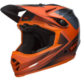 Bell Full-9 Helmet matte/gloss slate/dark gray/orange